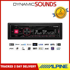 ALPINE UTE-72BT AUTORADIO LECTEUR RADIO mechless Bluetooth, USB pour iPod iPhone