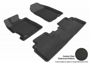3D MAXpider 2011-2018 Fits Porsche Cayenne 1st Row 2nd Row Floor Mat Black