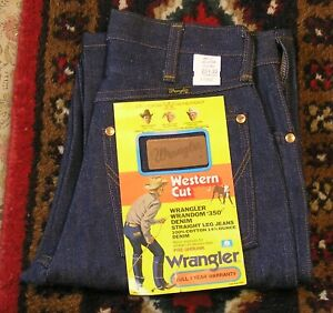 Vtg NOS Wrangler  Straight Leg Jeans Denim 11MWZ 28x32 All Cotton