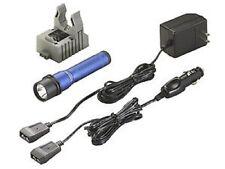 Streamlight 74343 Strion LED Anodized Blue Kit Flashlight AC/DC