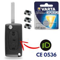 Coque Plip Télécommande Boitier de Clé pour CITROEN C4 Picasso • Phare • CE0536