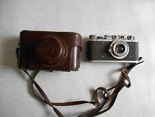 Early FED  Leica copy Russian rangefinder camera.. Lens Industar - 10