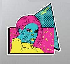 Katya Zamolodchikova RuPaul Drag Race car laptop sticker