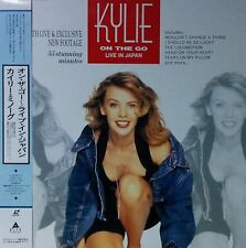 KYLIE MINOGUE / ON THE GO LIVE IN JAPAN LD w/OBI Insert Laser Disc JAPAN ISSUE