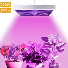 120W 1365 LED Grow Light Panel Red Blue Lamp Indoor Hydroponic Plants Veg Bloom