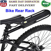 Bike Rear Rack Mount - Bicycle Back Seat Carrier Rack for Road MTB Bike Aluminum