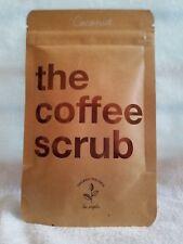 The Coffee Scrub COCONUT ~ Organic Feeling ~ 50g Sealed Package Body Scrub