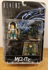 Aliens Mez-Itz Mini Action Figure Set Ripley Xenomorph Warrior Alien Queen New