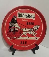 """VINTAGE OLD SHAY DELUXE ALE BEER """"TRAY"""""""