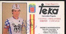 MODESTO URRUTIBEAZCOA autograph cyclisme ciclismo cp Signée TEKA Cycling rider