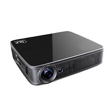 4K UHD 3D Android5.1 Portable DLP Home Theater Projector 1080P Full HD Video LAN