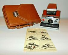 Polaroid SX-70 Land Camera with Case and Original User Guide Excellent Condition