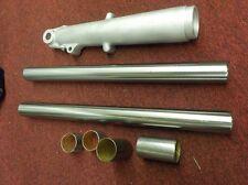 "PANHEAD-SHOVELHEAD ""NEW"" 1949-E77 RAW FORK TUBES WITH BUSHINGS #45950-48"