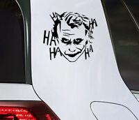 Joker Auto Aufkleber Clown Sticker Totenkopf Skull Motorrad Klaun tattoo