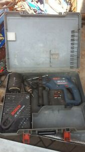 BOSCH GBH 24Vre CORDLESS HAMMER DRILL with batterys and charger