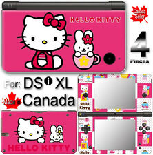 Hello Kitty SKIN COVER STICKER DECAL #2 for DSi XL LL
