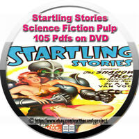 Startling Stories Comic Magazine Pulp Science Fiction 105 PDFs 3 DVDs