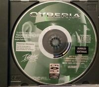 CYBERIA Experience The Future Interplay Game BUNDLED SOFTWARE Disc Only CDROM
