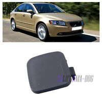 New Primed Front Bumper Tow Hook Eye Cap Cover Lid For VOLVO S40 2008-2012