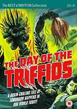 THE DAY OF THE TRIFFIDS di Steve Sekely DVD in Inglese NEW .cp