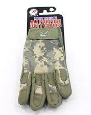 military duty gloves army acu digital camo lightweight tactical rothco 3456 M