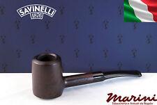 Pipa Pipe Capitol Bruyere by Savinelli radica verniciata scura 310 KS tronchetto
