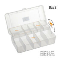 10 / 11 Compartments Storage Case Fishing Tool Lure Spoon Hook Bait Tackle Box