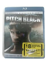 The Chronicles of Riddick: Pitch Black Blu-ray 2000 New Vin Diesel Keith David