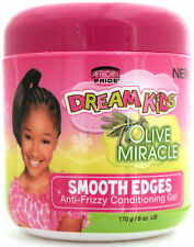 AFRICAN PRIDE DREAM KIDS OLIVE SMOOTH EDGES ANTI-FRIZZY CONDITIONING GEL 6 OZ.