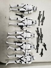 Star wars black series stormtrooper lot loose