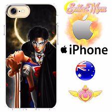iPhone Case Cover Silicone Sailor Moon Princess Serena Tuxedo Mask FreshPrintAU