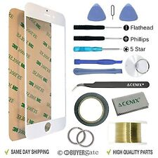 Front Outer Screen Glass Lens Replacement Repair Kit Tools for iPhone 6 4.7""