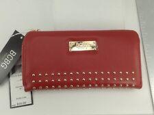 Women's BCBG PARIS Brand Large Red LEATHER Wallet - $68 MSRP - 20%