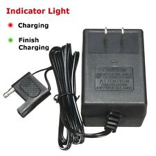 6V DC 2 Pin Hole Adapter Battery Charger For Kids ATV Quad Ride On Cars 4 wheel