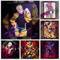 JoJo's Bizarre Adventure DIO BRANDO Anime Poster Scroll Home Decoration