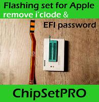 SPI SAM EFI ROM Flash Debug cable Servicetool TL866I Icloud remove Apple Macbook