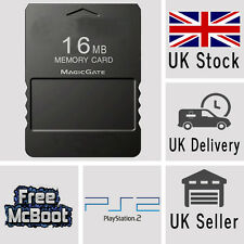 Free Mcboot FMCB 1.953 Sony Playstation 2 PS2 Tarjeta de memoria 16MB longitud del camino óptico ESR Hd Mc Boot