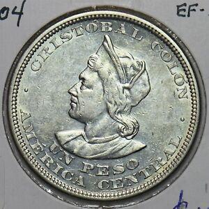 El Salvador 1904 Peso E0127 combine shipping