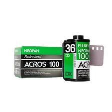 Fuji Fujifilm Acros Neopan 100 136-36 Le film miniature s/w b/W noir- film blanc