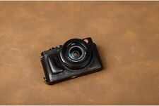VR Handmade Genuine Leather Half Case for Leica D-LUX Typ 109 Black