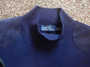 Original RALPH LAUREN Navy Blue Top, Sleeveless, Size UKM
