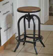 Original Bar Stool adjustable (66-85cm) artisan industrial style