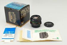 """Rare In Box"" ""Mint"" Minolta MD Rokkor 50mm F/1.4 MF Lens From Japan A945"