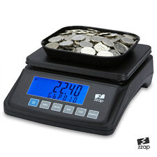 Coin Counting Scale Checker Money Cash Currency Counter Battery Machine UK