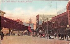 c.1910 Stores 3rd Ave. & 149th St. Bronx NY post card as is