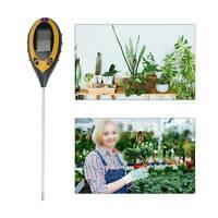3 in 1 Soil Meter PH Tester Water Moisture Light Test Meter Kit For Garden Plant