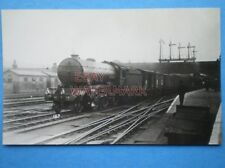 POSTCARD RP LMS LOCO 16?? ON FREIGHT