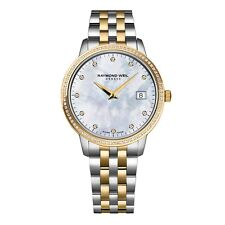RAYMOND WEIL Toccata Diamond Ladies Watch 5988-SPS-97081 - RRP £1495 - BRAND NEW