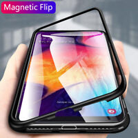 Case For Samsung Galaxy A50 A70 A10 A30 A20 M30/10 Magnetic Tempered Glass Cover