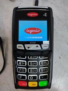 Ingenico iCT250 Kartenlesegerät EC-Cash EC-Terminal Magnetkarten, Chip-Karten
